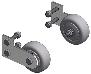 WHEELS (PAIR) FOR KAUFMANN TILE CUTTER