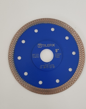 125mm hot pressed turbo Diamond saw blade for cutting tile and marble