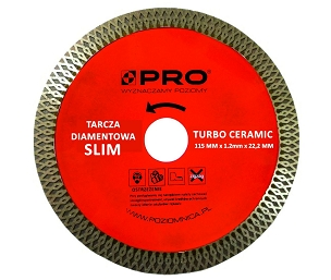 TILE Cutting disc PRO 115mm