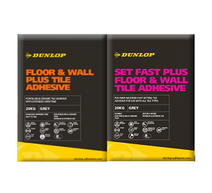 PALLET OF DUNLOP ADHESIVE = 50 X bags of either fast or slow set  ***NOW ONLY €17 PER BAG***