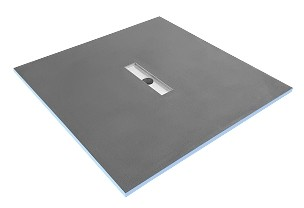 Tilefix wetroom tray SLIM 300 PRO 4S (4slopes) liner drain with high efficiency trap